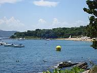 Linda praia! Ali�s, todas em Ilhabela s�o lindas!!