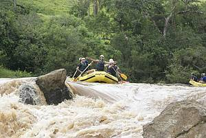 Rafting no Parque do Monjolinho