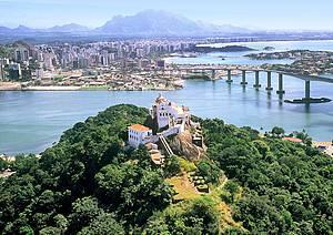 Convento de N.S. da Penha: Construção é um dos cartões-postais do Espírito Santo -