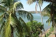 Ao fundo o rio S�o Francisco