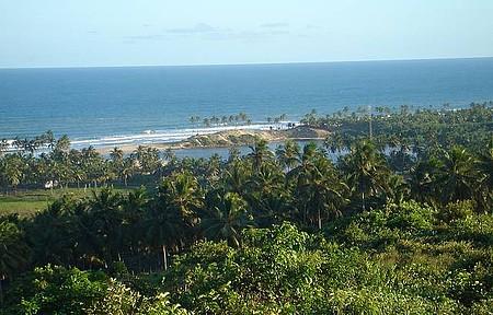 Barra do Itariri - Coqueirais a perder de vista e banho de rio