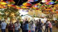 Vila ainda mais colorida no Natal