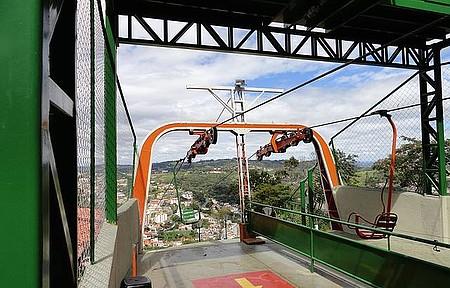 Serra Negra - Teleférico