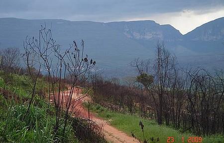 Estrada para Cachoeira do Buracão - Um pouco longa, mas vale a pena!