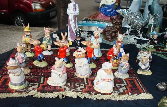 Domingos na Feira dos Antiquários da Gávea - RJ