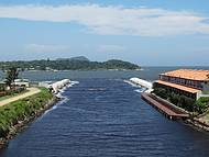 Entrada do Canal Marina de B�zios