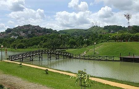 Parque Ipanema - Vista da lagoa