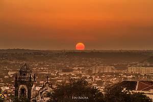 Pôr do sol no Alto da Sé (Olinda)