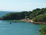 Praia com uma piscina natural magnífica