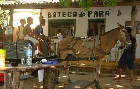 Boteco do Pará - Depois da caminhada 9 Kms - o oásis