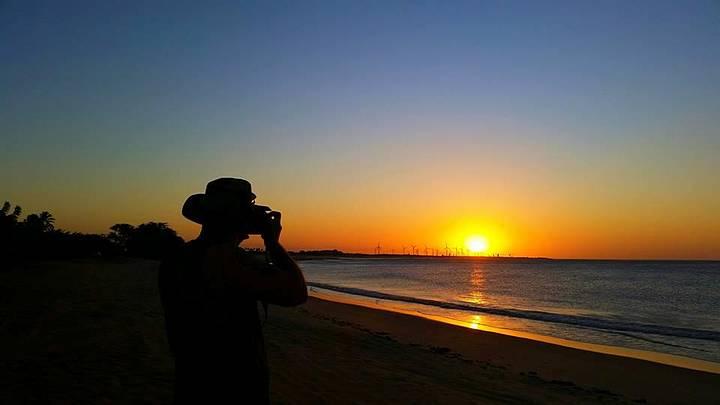 Pôr do sol em Tourinhos...