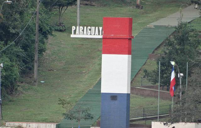 Vista do Marco Paraguaio