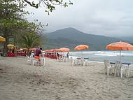 A mais famosa praia de Ilha Bela