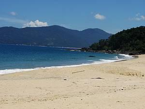 Curtir a praia do Bonete