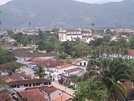 Cidade de Paraty Vista do Alto
