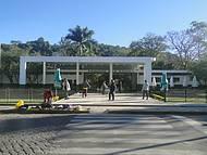 Visual da entrada do parque.