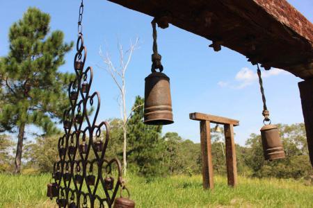 Bosque dos Sinos: ao som dos ventos