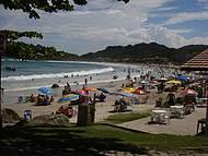 Bela praia também