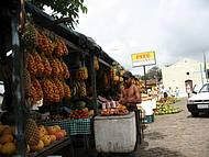 Linda feira de frutas em Natal - RN