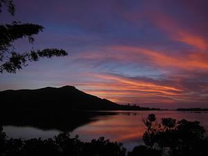 Ibiraquera: Nascer do sol é inspirador<br>