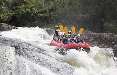 Rafting - Corredeiras são certeza de muita adrenalina