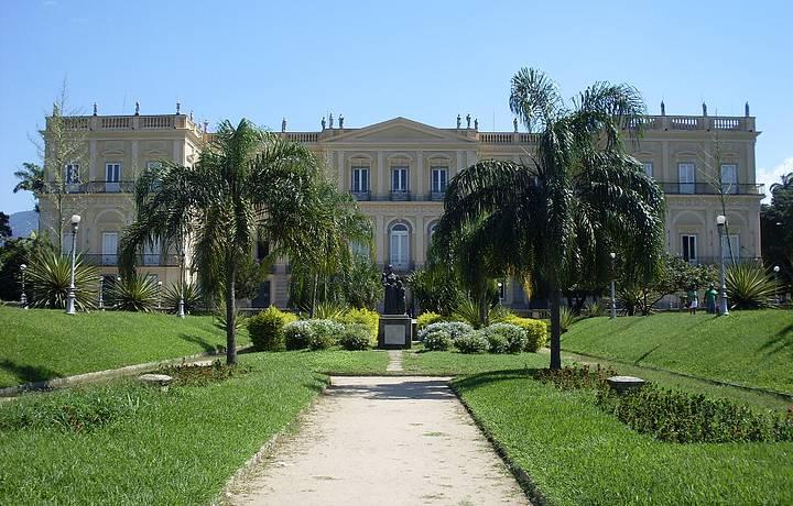 Resultado de imagem para Museu Nacional do Rio de Janeiro