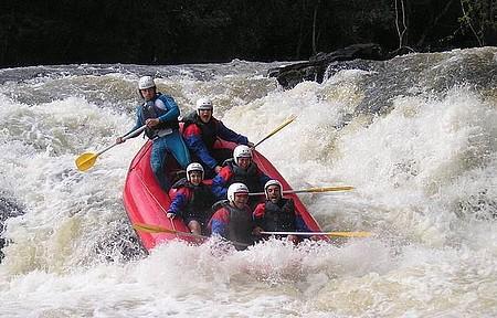 Rio Pepiro - Rafting em Brotas é pauleira.
