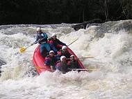 Rafting em Brotas é pauleira.
