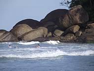 Canto da praia - ideal para surfe