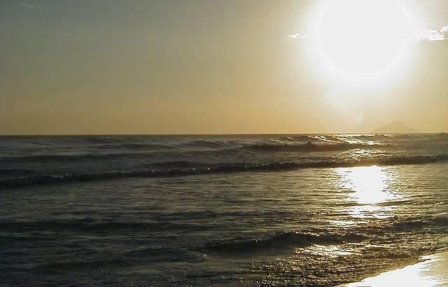 Olha esse pôr-do-sol...