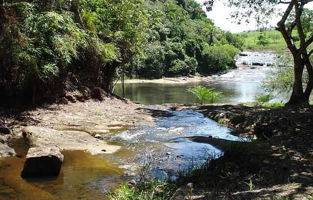 Encontro das cachoeiras com a lagoa