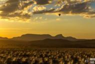 De balão na Chapada dos Veadeiros (GO)