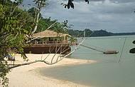 Point é procurado para banhos, pesca de dourado e para curtir o pôr do sol