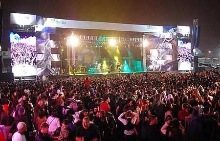 Festival de Inverno - Pop rock esquenta as noites frias do mês de julho