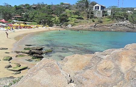 Ferradurinha - Pequena praia próxima ao canto esquerdo de Geribá