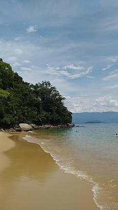 Praia perfeita!