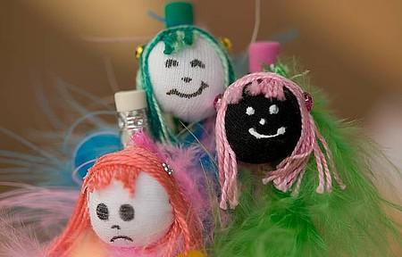 Bonecas de pano - Singelos souvenirs são encontrados na Casa do Artesanato