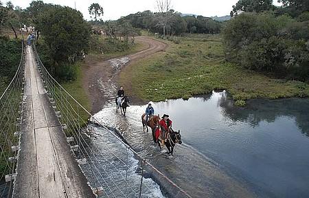Turismo Rural - Cavalgada são os programas mais concorridos