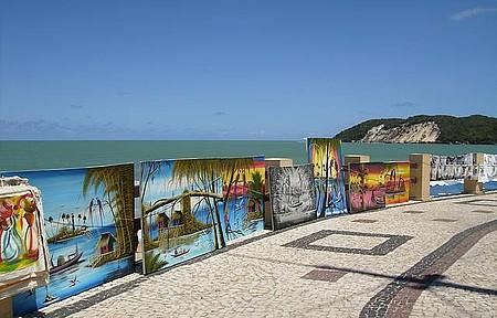 Compras - Orla de Ponta Negra também tem artes