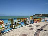 Orla de Ponta Negra também tem artes
