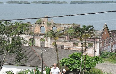 Ruínas - Vista do alto, na Igreja