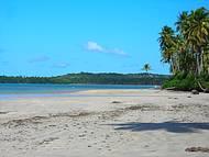 A maravilhosa praia de Boipeba!