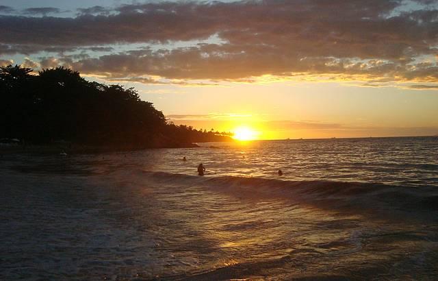 Um dos mais belos por-do-sol do Brasil