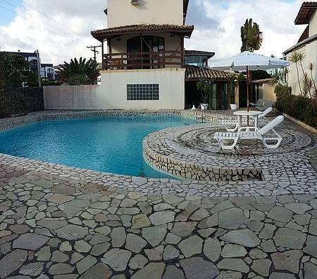 Pousada Porto Villas - Vista da piscina