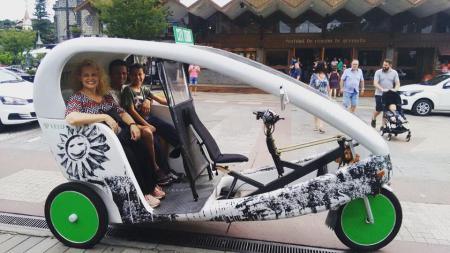 Triciclo sustentável - Sss