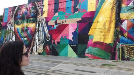 Mural Eduardo Kobra - Passeio