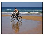 Eu de bicicleta