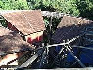 Pavilhão visto do mirante