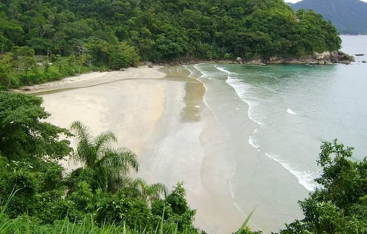Vista da Estrada Praia Brava da Fortaleza