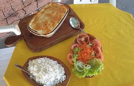 Restaurante Cabana do Portuga - ...bacalhau com NATAS...DELÍCIA...